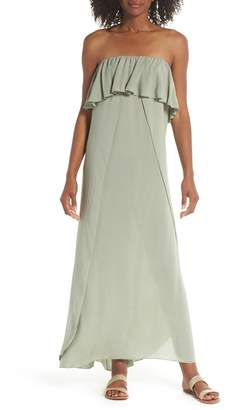 Elan International Strapless Maxi Cover-Up Dress