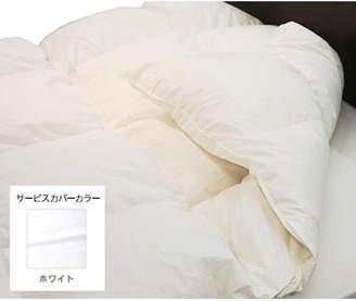DOWBL (ダブル) - IDC OTSUKA/大塚家具 羽毛布団 ティエドール ミディアム ダブル ホワイト