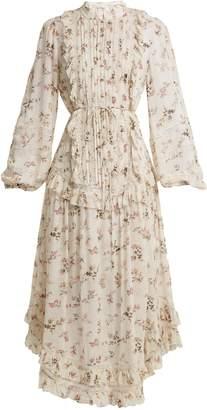 Zimmermann Whitewash pintuck dress