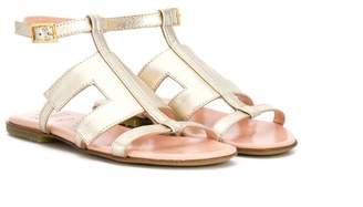 e6aae9d09fcc Elisabetta Franchi La Mia Bambina Alba gladiator sandals