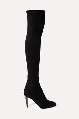 Jimmy Choo Toni 90 Stretch-suede Over-the-knee Boots