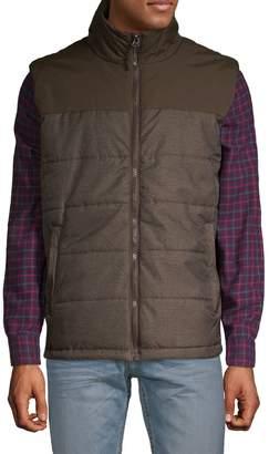 Champion Herringbone Quilted Puffer Vest