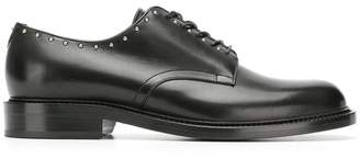 Saint Laurent studded Derby shoes