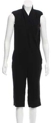 L'Agence Sleeveless Cropped Jumpsuit