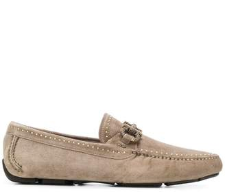 Salvatore Ferragamo textured Gancio loafers