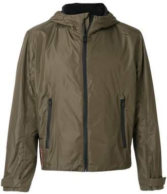 Prada zip up hooded jacket