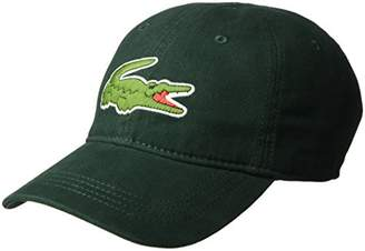 Lacoste Men's Gabardine Cap with Large Crocodile