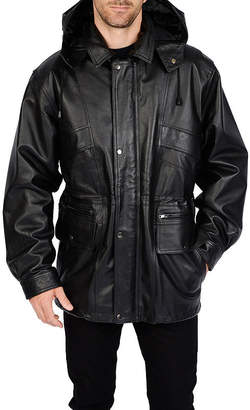 Excelled Leather Excelled Pig Leather Parka - Big & Tall