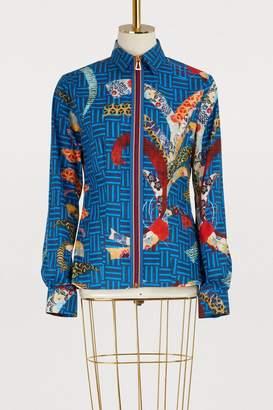 Stella Jean Asian zipped shirt