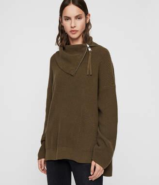 AllSaints Kadine Roll Neck Sweater