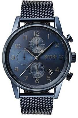 87b632ef0db HUGO BOSS Men s Navigator Chronograph Bracelet Watch
