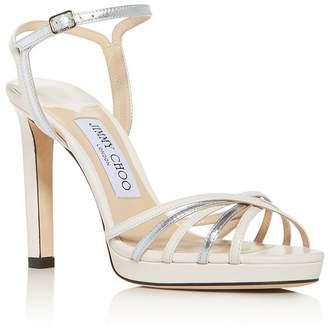 Jimmy Choo Women's Lilah 100 High-Heel Platform Sandals