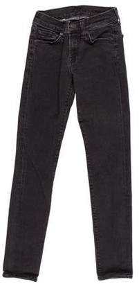 7 For All Mankind Mid-Rise Embellished Jeans