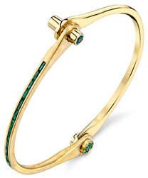 Borgioni Handcuff Chain Bracelet in Yellow Gold usRS3K71