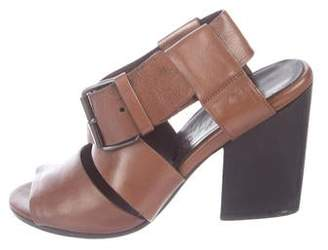Marsèll Leather Crossover Sandals
