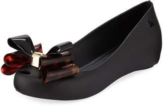 Melissa Shoes UltraGirl Sweet Bow Ballet Flats