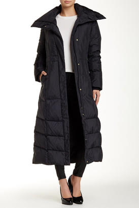 "Cole Haan 50"" Down Coat $450 thestylecure.com"