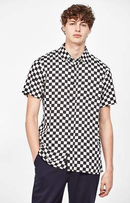 Vans Checkerboard Short Sleeve Button Up Shirt