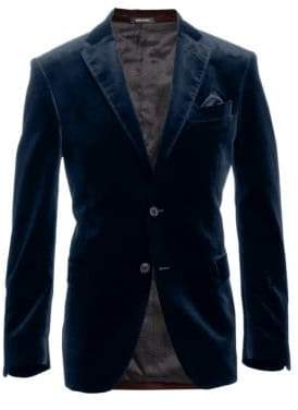 Saks Fifth Avenue COLLECTION Velvet Dinner Jacket