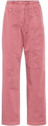 Brunello Cucinelli Cropped cotton pants