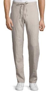 Linen Drawstring Pants $85 thestylecure.com