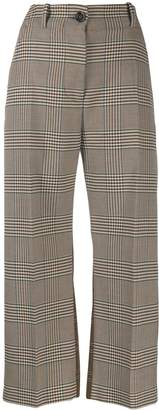 MM6 MAISON MARGIELA checked trousers