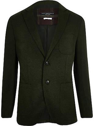River Island Jack and Jones Premium green blazer