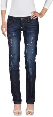 Philipp Plein Denim pants - Item 42635513