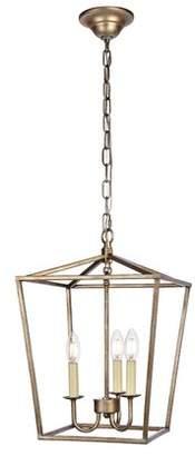 Gracie Oaks Sennett 3-Light Lantern Pendant