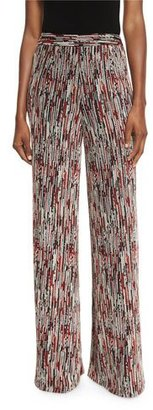 Alice + Olivia Athena Super-Flare Wide Leg Pants $375 thestylecure.com