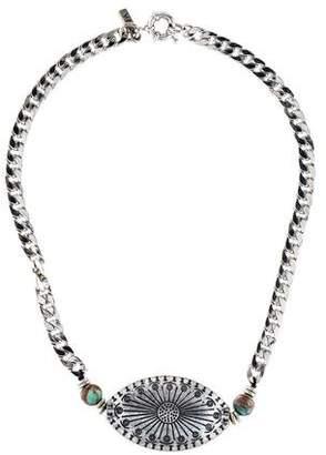 Vanessa Mooney Stone Collar Necklace