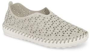 Bernie Mev. Perforated Slip-On Flat