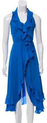 Haute Hippie Silk Midi Dress Silk Midi Dress