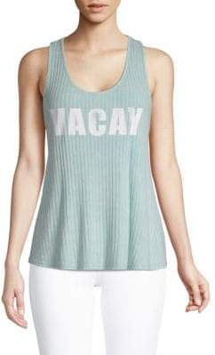 Ppla Vacay Graphic Tank Top