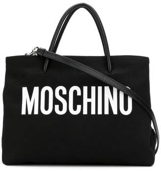 Moschino medium logo tote