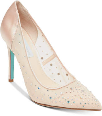 Betsey Johnson Blue by Rubie Evening Pumps Women's Shoes