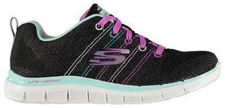 Skechers Girls Appeal Shoes Runners Lace Up Breathable Lightweight Memory