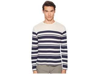 Orlebar Brown Sammy Long Sleeve Multistripe T-Shirt