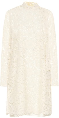 Valentino Floral-lace dress