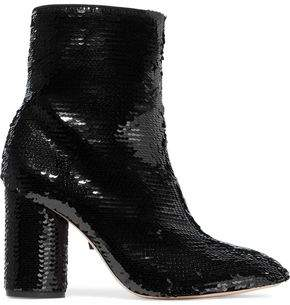 Schutz Clary Sequined Ankle Boots