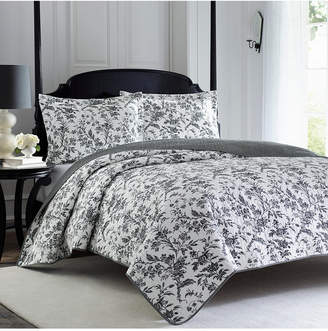 Laura Ashley Full/Queen Amberley Quilt Set Bedding