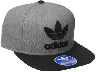 adidas Men's Originals Trefoil Chain Snapback Cap