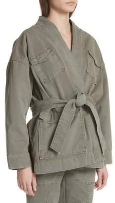 Rebecca Taylor Belted Utility Jacket