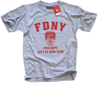 New York Fashion Police FDNY T-SHIRT Crewneck New York Fire Department Athletic Tee,