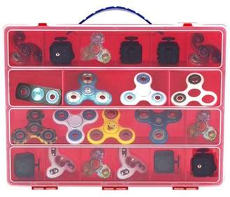 Life Made Better Fidget Spinner Case, Toy Storage Carrying Box. Figures Playset Organizer. Accessories For Kids by LMB