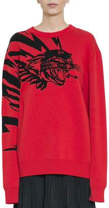 Givenchy Flying Cat Sweater
