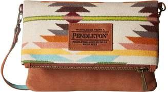 Pendleton Fold-Over Clutch Clutch Handbags