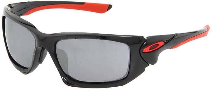 Oakley Scalpel (Asian Fit) (Ducati Scalpel Pol Blk w/Blk Irid) - Eyewear