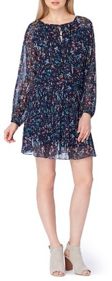 Women's Tahari Floral Drop Waist Dress $128 thestylecure.com