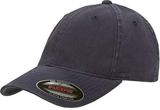 Flexfit/Yupoong Men's Low-Profile Unstructured Fitted Dad Cap